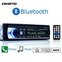 In Dash Car Radio Stereo Player Bluetooth Phone AUX IN MP3 AD FM USB Remote Control