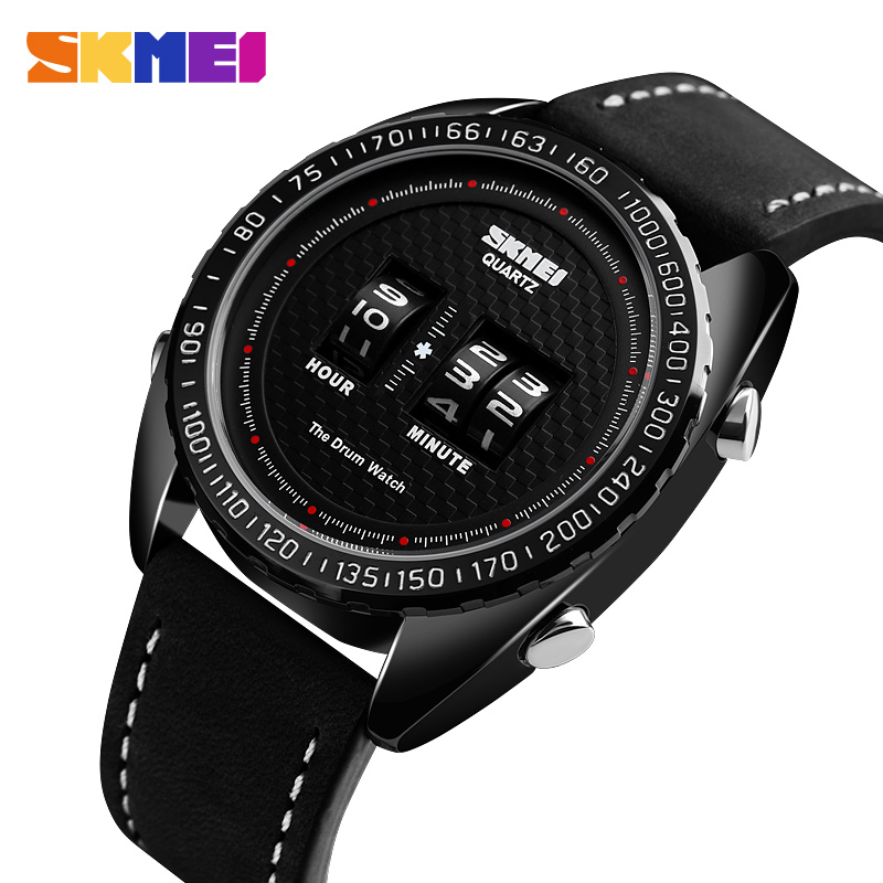 <font><b>Skmei</b></font> Luxury Men's Sport Watch Creative Business Men Quartz Wristwatch 30M Waterproof Relogio Masculino Relojes Para Hombre <font><b>1516</b></font> image