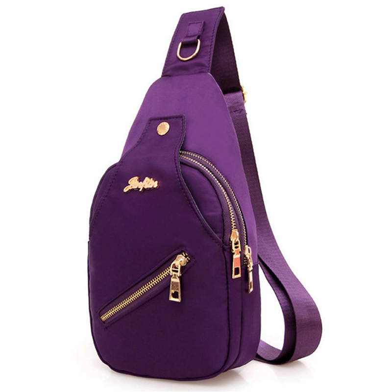 2017 New Women Chest Bags Casual Crossbody Messenger Bags for Women Ladies Nylon Waterproof Small Cross Body Sling Shoulder Bags