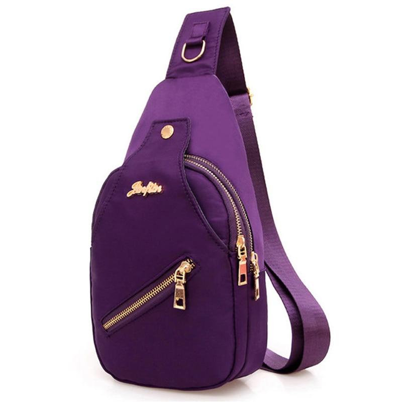 2018 Uued naiste rinnakorvid, vabaaja ristlõngaga kottide kotid naistele, nailonist veekindlad, väiksed risti kehaosad.