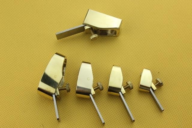 5 шт. Высокое качество Различные размеры мини латунь самолет, скрипки/Виолончель дерево решений инструменты