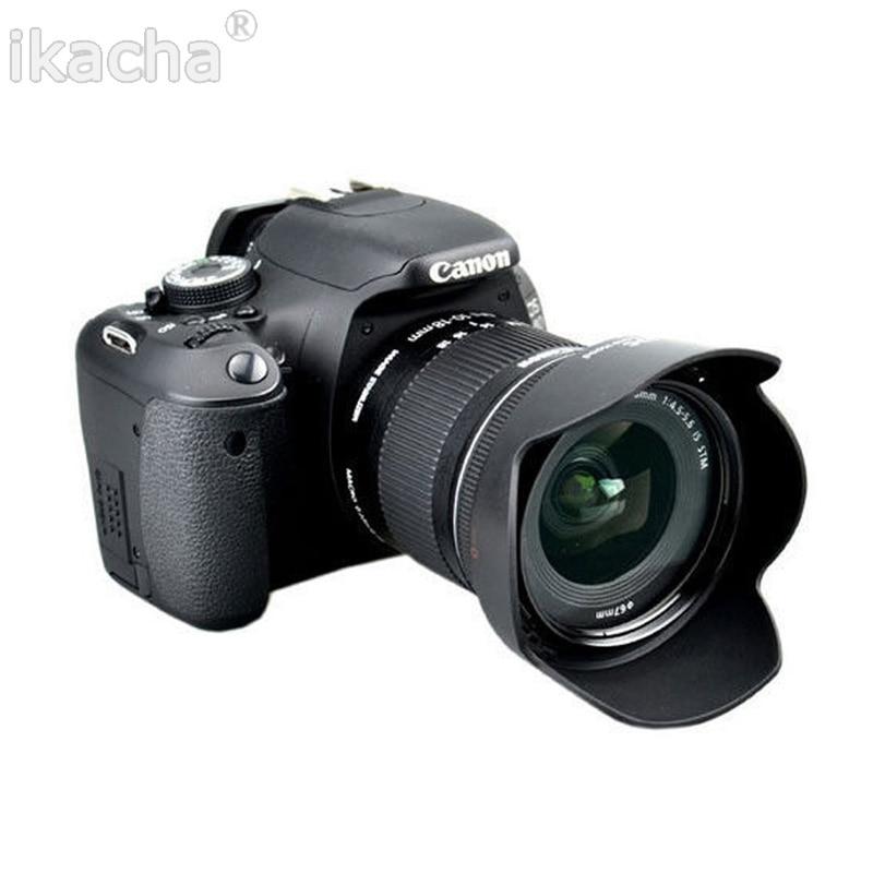 Camera Lens Hood EW-73C EW 73C Petal Buckle Lens Hood 67mm For Canon EOS EF-S 10-18mm F4.5-5.6 Lens 2