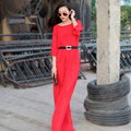 2015 лето плюс пользовательские прямо твердые высокая талия Vestido лонго летний стиль старинные ну вечеринку свадебные платья женщин