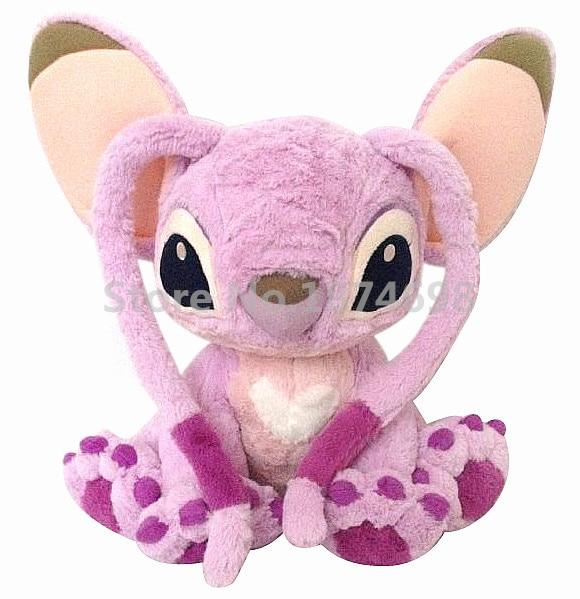 New Lilo And Stitch Cute Stitch Angel Plush Toy Large 40cm