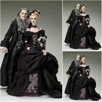 sc 1214 Victorian Gothic/Civil War Southern Belle loose Ball Gown Dress Halloween Vintage Lolita dresses Custom made