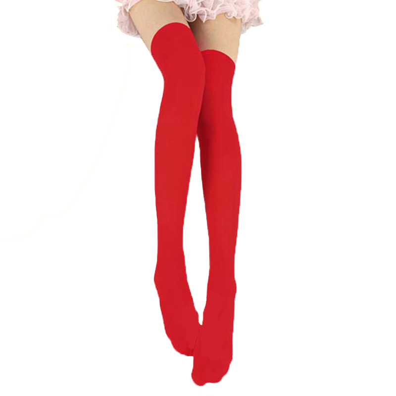 Women Sexy Stockings Fashion Over Knee Stockings Temptation Stretch Stocking Warm Medias Overknee Velvet Calze