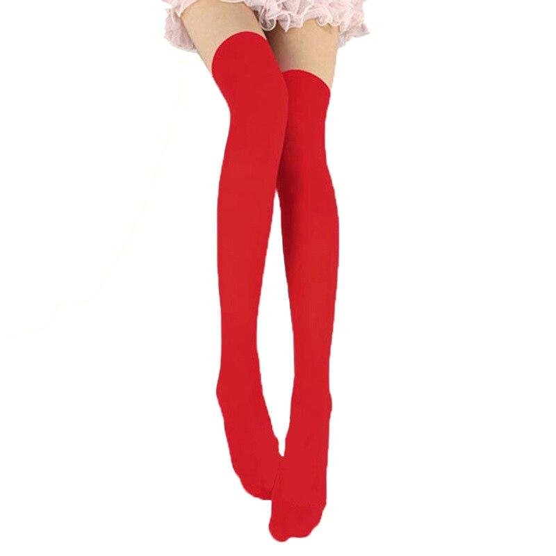 Women Sexy Stockings Fashion Over Knee Stockings Temptation Stretch Stocking Warm Medias Overknee Velvet Calze