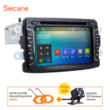 Seicane 7″ Android 7.1 car radio DVD player for 2010-2016 Renault Duster GPS navigation bluetooth support DVR TV Backup Camera