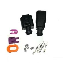 Plug Electrical-Wire-Connector 2-Pin Deflation-Valve-Plug Auto-Temp-Sensor Waterproof