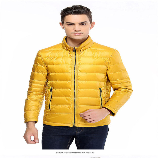 Aliexpress.com : Buy Ultra Light Down Jacket Men Outerwear Fall ...