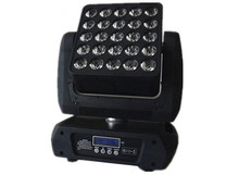 5x5 Led Matrix Moving Head Light RGBW 4IN1 25*12W DMX Stage Beam Light LED matrix stage lights(China)