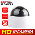 HD 720P 1080P Dome IP Camera 1MP/2MP ONVIF H.264 Indoor Use 30Pcs IR Night Vision 2.8-12mm VariFocal 4X Manual Zoom P2P Cloud