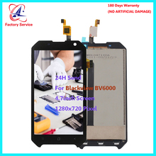цена на For Original Blackview BV6000 BV6000S LCD Screen Display+Touch Screen Digitizer Sensor Assembly Replacement 4.7 1280x720 Pixel