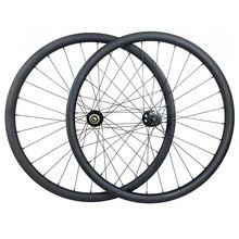 29er MTB XC ruedas de carreras sin capucha, juego de ruedas de carbono 30mm x 30mm UD matt Novatec D791SB D792SB sin cámara
