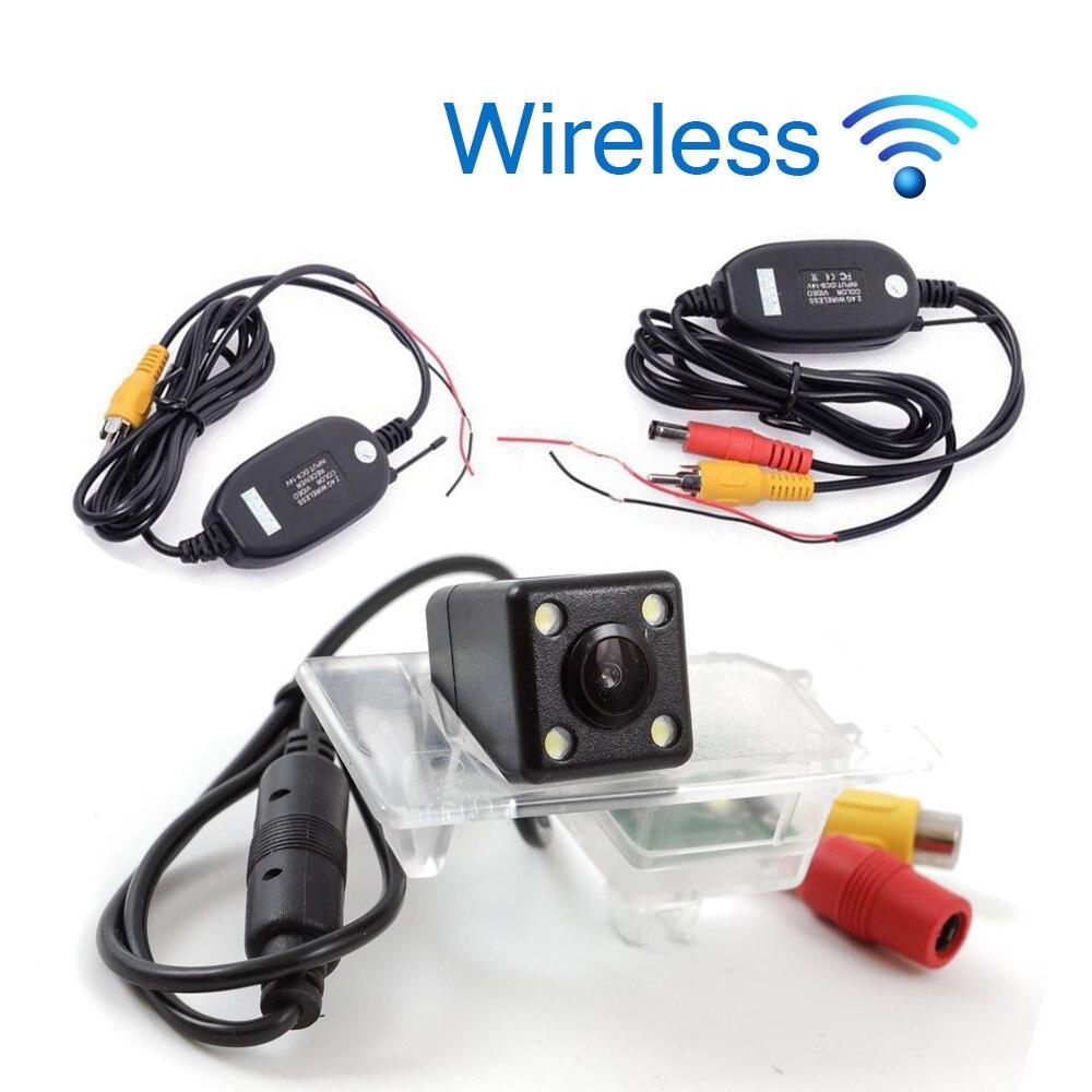 HD Wireless Car Rear View Camera For Audi A4L/A6L2013-2015/<font><b>A3</b></font> saloon 2013/A1 2015/S3/Q3/Q5 2013-2015 Parking Night Vision
