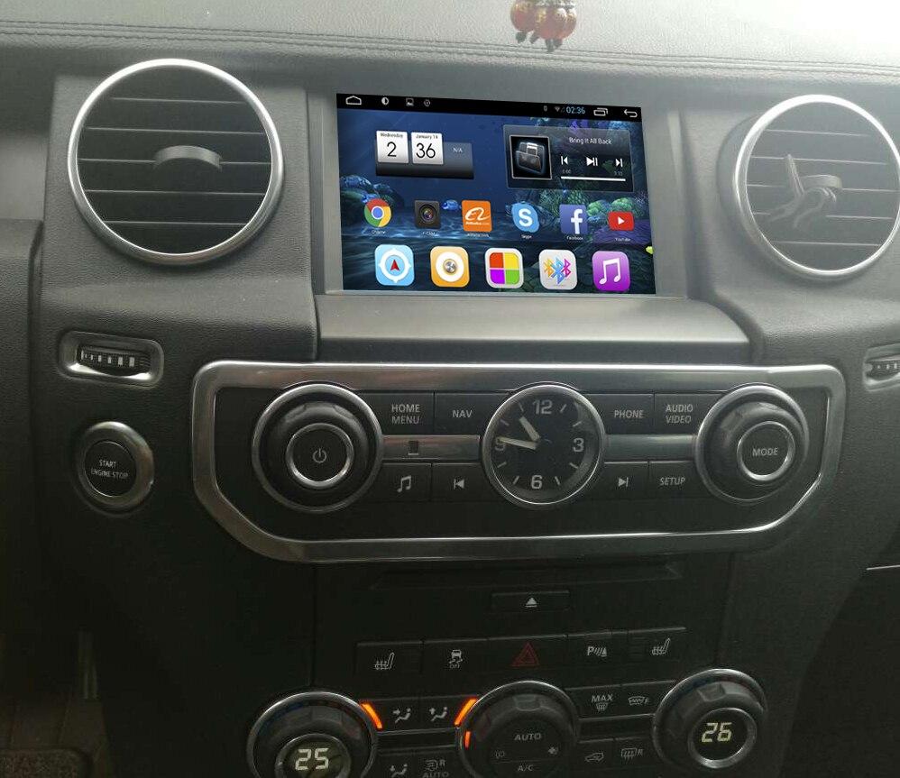 7 polegada tela android 7.1 sistema de navegação gps do carro jogador rádio automático para land rover discovery 4 para range rover