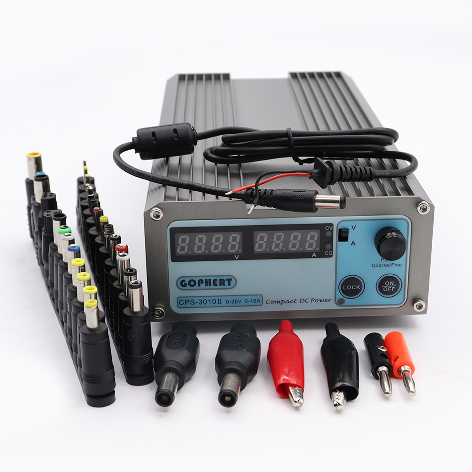 CPS-3010II 0-30V 0-10A low power Digital Adjustable DC Power Supply CPS3010 Switching power supply laboratory power supply low power digital design using asynchronous logic
