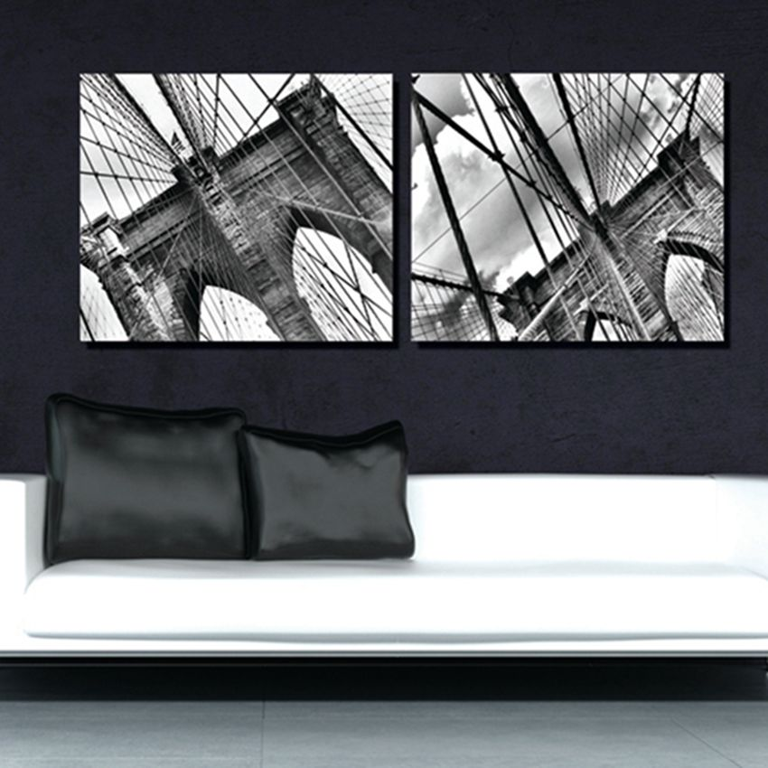 2 Pieces No Frame Free Shipping On Canvas Prints Brooklyn