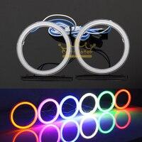 2pcs 95mm 114 LEDs Car Auto Motorcycle Cob Angel Eyes Halo Rings DRL Headlight Decorative Light