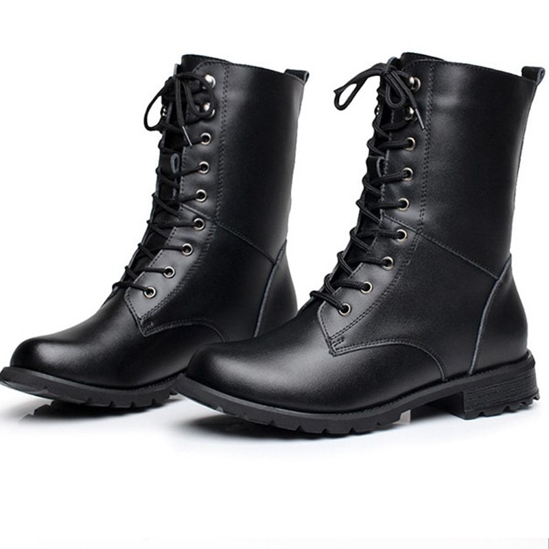 big size real leather martins women short boots ankle. Black Bedroom Furniture Sets. Home Design Ideas
