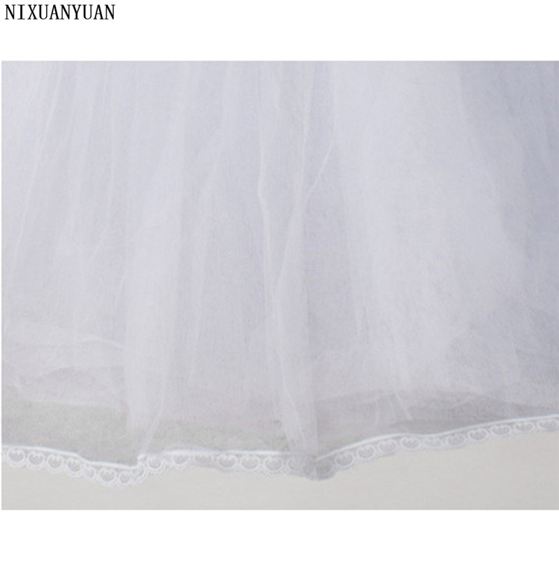 Wedding Petticoat Cheap Bridal Wedding Accessories White Petticoat With Hem Lace Appliques Ball Gown Petticoat For