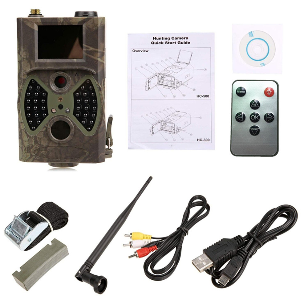 Suntek IR Night Vision Hunting Camera 1080P GSM Scouting Wildlife Traps camera hc300m Photo Traps Thermal wild camera for hunt ltl acorn 5210a scouting hunting camera photo traps ir wildlife trail surveillance 940nm low glow 12mp