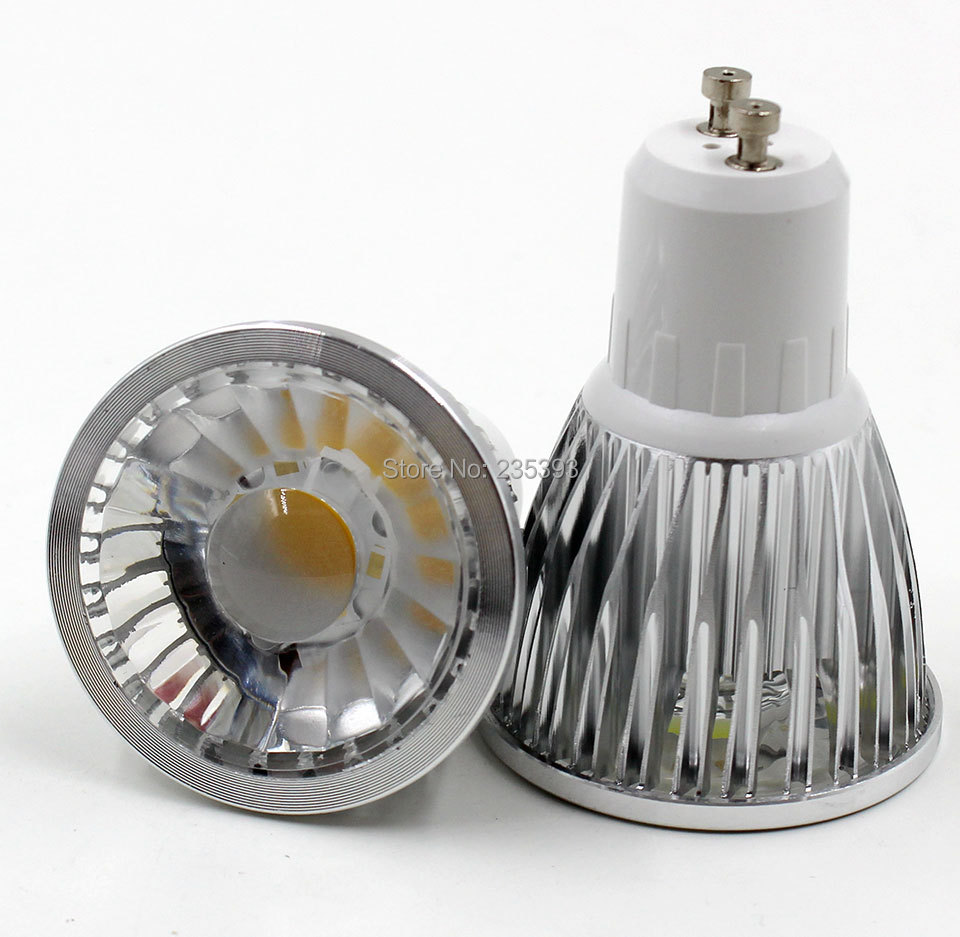 Led Spot Gu10 Us 4 56 3w 5w 7w Dimmable Gu10 Led Spotlight Dimmable Bulb With Lens Led Cob Spotlight Bulbs 220v Gu10 12v Mr16 Cob Dimming Led Gu10 In Led Bulbs