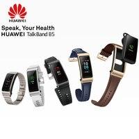 Оригинальный Huawei talkband B5 запястье Bluetooth умный спортивный браслет Напульсники Touch AMOLED Экран
