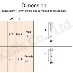 Image 2 - 30 ensembles contiennent (5 pièces 1P + 2P + 3P + 4P + 5P + 6P) connecteurs mâle et femelle, connecteurs étanches automobiles connecteur de lampe au xénon