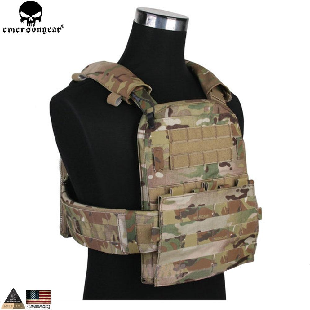 EMERSONGEAR CP AVS Adaptive Vest Heavy Version Military Hungting Vest Protective Tactical Duty AVS Vest US Multicam EM7397