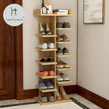 Louis Fashion Shoe Cabinets Corner Double Row Multi Storey Simple Household  Economical Space Dormitory Door