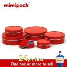 Mimi Pack tin box round packaging fashion circle tea caddy snack box storage tank
