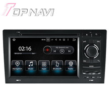 7 inch Quad Core Android 5.1.1 Car Radio Stereo Video Player For Audi A8 1994-2003 for Audi S8 1994-2003 With Multimedia DVD GPS