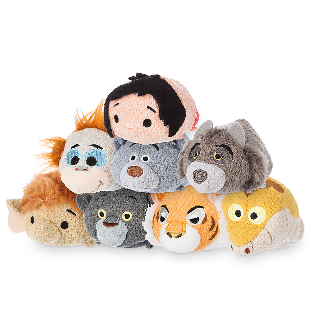 The Jungle Book Tsum Tsum Bear Elephant Snake Tiger Mini Plush Toy Kids Girl Birthday Gift