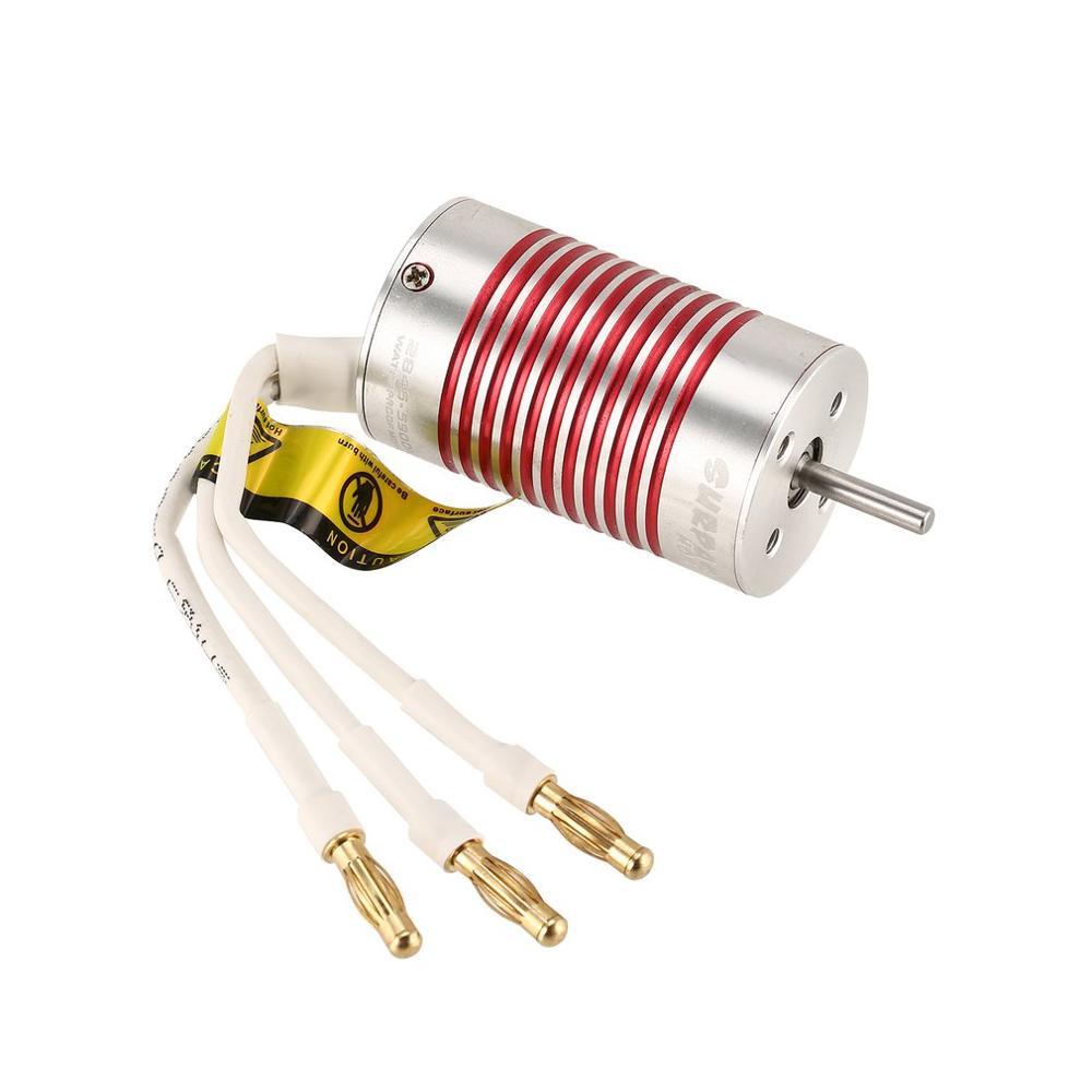 Image 4 - SURPASSHOBBY Platinum Waterproof Combo 2845 4370KV 3930KV 3800KV 3100KV Brushless Motor w/ 45A ESC Programming Card for Wltoys-in Parts & Accessories from Toys & Hobbies
