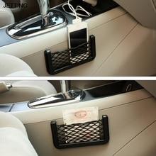 Bag Storage-Network Pocket Handphone-Holder String JETTING Mesh Auto-Accessories Vehicle