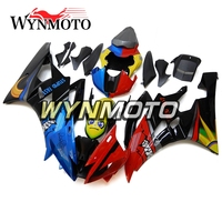 Complete Fairings For Yamaha R6 2006 2007 06 07 Year ABS Injection Plastics Hulls Blue Red Cowlings Motorbike Covers New Covers