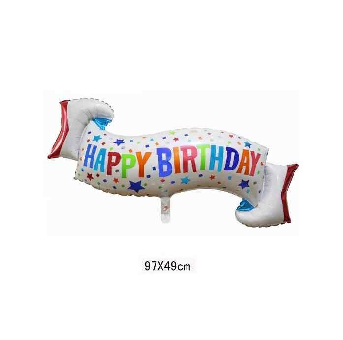 1pcs สำเร็จการศึกษาฟอยล์บอลลูนบอลลูนวันเกิด Happy Doctor หมวก Globos congrats grad PARTY วันเกิด PARTY Supplies