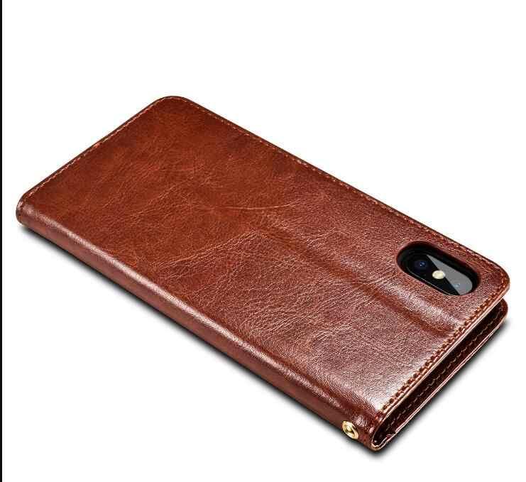 Kulit Ponsel Case Dompet Cover UNTUK Haier G50 G51 Jahe G7 G7s Alpha A1 Power P8 P11 P10 Haier I8 keanggunan E7 Flip Book Cover