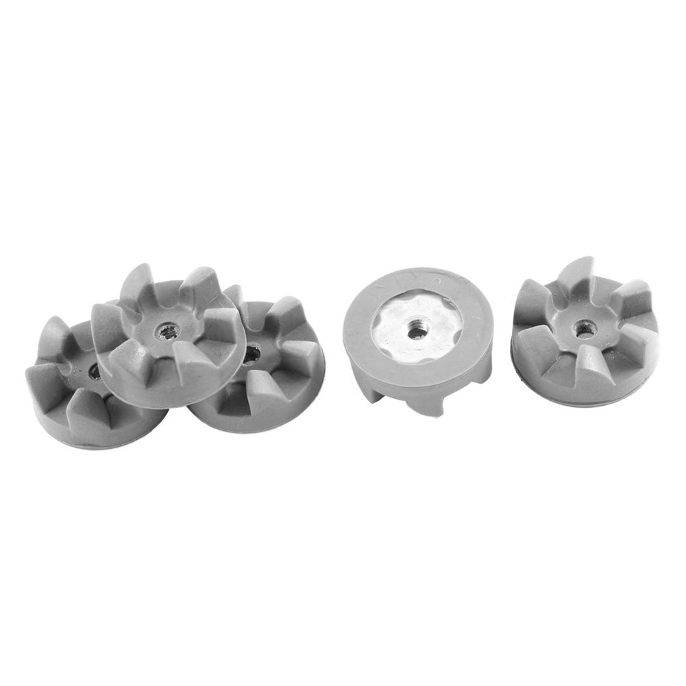 Kitchenaid Blender Rubber Coupling Coupler Clutch Cog Shear Gear Gray 30mm 5pcs Mixer parts 8 replacement spare parts blender juicer parts 4 rubber gear 4 plastic gear base for magic bullet 250w 38