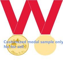 1ชิ้นแบรนด์ใหม่หัตถกรรมโลหะที่กำหนดเองตราเหรียญเหรียญรางวัลผู้ขายติดต่อในขั้นสูง