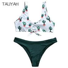 New one piece bikini tube top split girls swimwear bandage set sexy gather swimsuits 2019 Brazilian beach wear