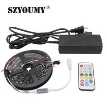 SZYOUMY WS2812 Smart LED Strip 5050 DC5V 5M 60 Leds/M Dream Color Pixel IC Digital Individually Addressable Led Light