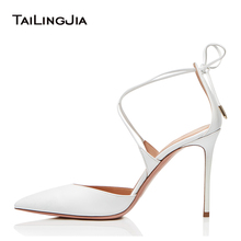 Elegant White Bridal Wedding Bride Shoes Woman Black High Heel Women Party Shoes Stiletto Nude Office Heels Ladies Pumps 2019 цены