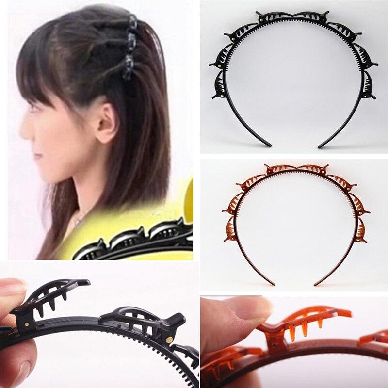 В стиле готик-панк для укладки волос Twist-особые случаи на каждый день на открытом воздухе заколка оплетка магический инструмент Аксессуары ...