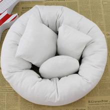 CBNHR TIMES Newborn photo props photography 4pcs round baby