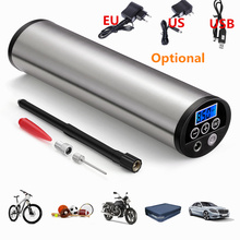 150 PSI Smart Portable Rechargeable Electric Air Inflator with Digital Display Tire Pressure US EU PLUG for Bike Car Toy Ball