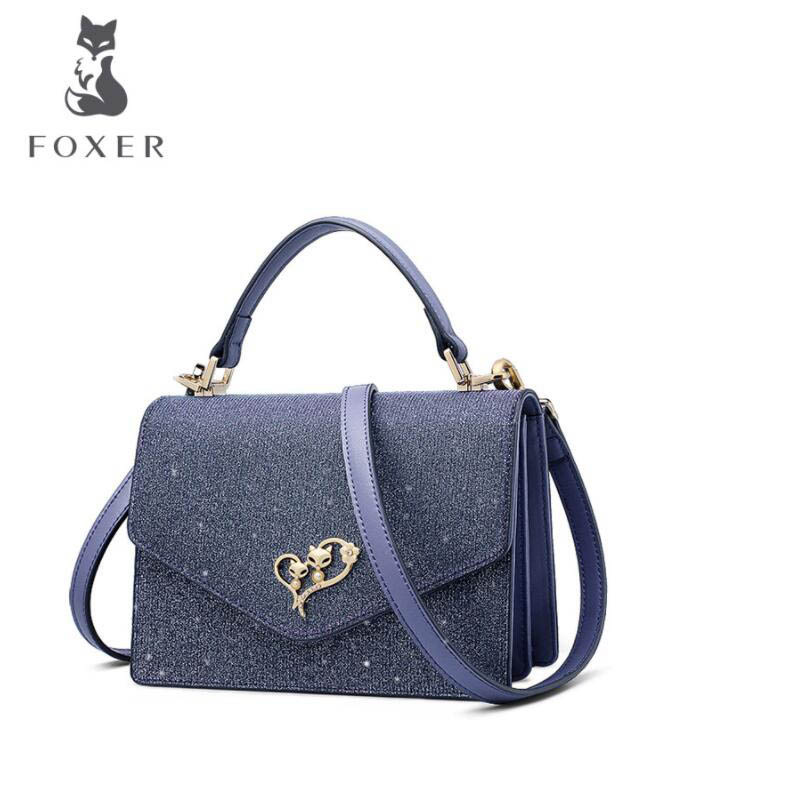 FOXER luxury fashion texture fashion handbag shoulder fairy bag female 2019 new girl Messenger bag tideFOXER luxury fashion texture fashion handbag shoulder fairy bag female 2019 new girl Messenger bag tide