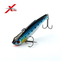 XTS Fishing Hard Lure 80mm 22g Sinking VIB Artificial Bait With Strong Hook 10 Colors Available 5256
