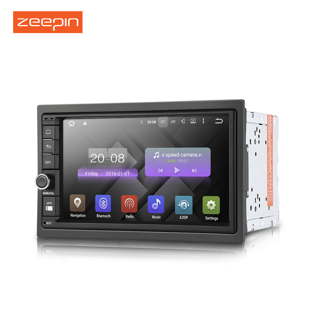 Universal DY7003 Car Radio Android 5.1.1 Double Din Car Multimedia Player Radio Audio GPS Navigation Car DVD player